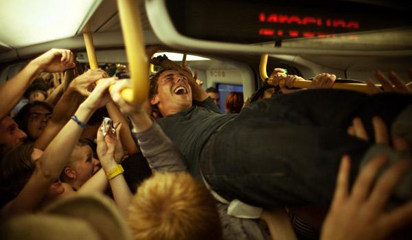 Strømfestival i metroen